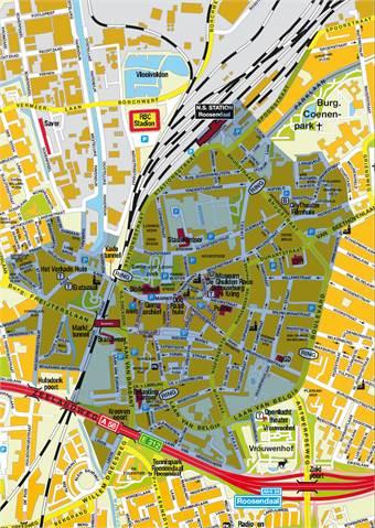kaart roosendaal Parkeren in Roosendaal   Parkeer Beheer   Map